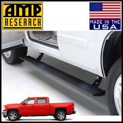 Amp Research Powerstep Electric Running Boards 2014-2018 Silverado Crew Cab