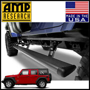 Amp Research Power Step Electric Running Boards Fit 2018-2020 Wrangler Jl 4-door