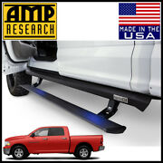 Amp Research Power Step Xl Electric Running Boards Fit 2009-12 Ram 1500 Crew Cab