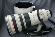 Canon Ef 400mm F/2.8l Is Usm Lens - Works Great W/ Hood And Caps