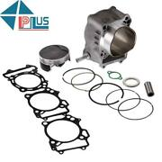 Big Bore Cylinder Piston Gasket Top End Kit For Suzuki Ltz 400/434cc 03-14 Usa