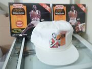 Michael Jordan 1990andrsquos Farley Candy Company Original Hat W/ Two Fruit Snack 1/1