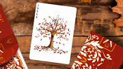 Leaves Autumn Edition Collector's White Playing Cards Deck By Dutch Card House