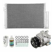 For Chevy Sonic 2014 2015 Oem Ac Compressor W/ Condenser Drier Csw