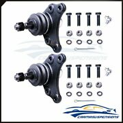 New Set Of 2 Both Fits 1995 Toyota Pickup K9343 Suspension Upside Ball Joints