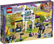Lego 41367 Friends 337pcs 6+ Stephanieand039s Horse Jumping Horse Stable Set New