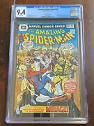 Amazing Spider-man 156 1976 30 Cent Variant - Cgc 9.4 - Ned And Bettyandrsquos Wedding