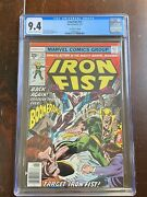 Iron Fist 13 1977 35 Cent Price Variant - Cgc Graded 9.4 - Ow/w Pages