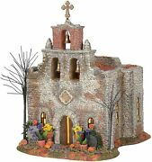 Department 56 Sv Halloween - Day Of The Dead Church 6005478