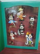 Disney Mickey Mouse Through The Years Storybook Collection Christmas Ornaments