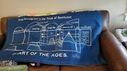 Watchtower Cloth Chart Jehovah Witness Extremely Rare Nice Large Trades Welcome