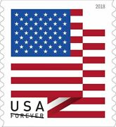 500 Usps And039us Flag 2019and039 Forever Postage Stamps 25 20andnbsp