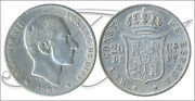 Spain - Coins Centenario- Year 1880 - Number 00079 - Bc Alfonso Xii