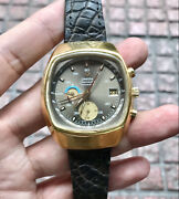 70and039s Vintage Omega Jedi Chronograph Cal 1045 Aviation Watch