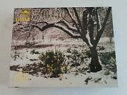 Vintage Guild Daffodils In The Snow 500 Piece Jigsaw Puzzle Outdoors Golden New