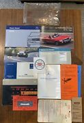 1986 Mercedes Benz 560sl Owners Manual Set Rare R107 Complete 1