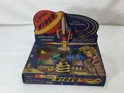 1950s Vintage Captain Video Supersonic Space Fighters Boxed Complete Lido Toy
