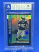 Julius Peppers 2002 Bowman Chrome Refractor Rc D/500 - Bgs 9 Mint - Panthers 🏈