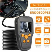 1080p Wifi Endoscope Cable Borescope Inspection 8mm Camera Ip68 For Ios Android