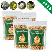 44lbs Dried Mealworms Bulk Non Gmo Organic Chickens Feed Hen Blue Birds Gliders