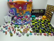 Animal Jam Toy Plush Lot Playsets, Board Game, Stickers, Game Codes, Pet Houses