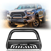 New Front Bumper Bull Bar Grille Guards Skid Plate For 07-2020 Toyota Tundra Us