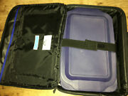 Pyrex Portables, 3qt. Casserole Dish And Lid W/ Insulated Food Carrier And Hot Pad