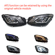 For 13-17 Mercedes S-class W222 S550 S63 S65multibeam Headlight Afs Facelift Led