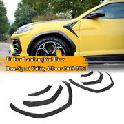 Real Carbon Fiber Wheel Arch Fender Flare Fit For Lamborghini Urus Sport 2018-21