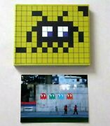 Space Invader Invasion Book Guide Bilbao Invaded + Carte Postale Ed. Limitandeacutee