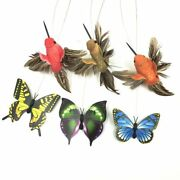 Cat Toy Electric Rotating Colorful Butterfly Bird Animal Toys Plastic Funny Pet