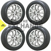20 Jeep Grand Cherokee Overland Pvd Chrome Wheels Rims Tires Factory Oem 9168