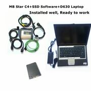 Diagnostic Software Sd Connect C4 With D630 Laptop Mb Star C4 Diagnostic Tool