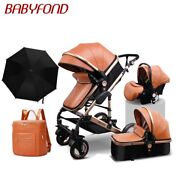 Golden Baby Brand High Landscape Stroller Seated Folding 0-3 Years Old