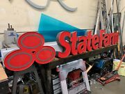 State Farm Sign Channel Lettering