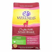 Wellness Pet Products Dog Food - Turkey And Oatmeal Recipe - Case Of 6 - 4 Lb.