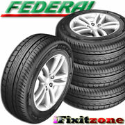 4 New Federal Formoza Az01 195/55r16 87v All Season Traction Performance Tires
