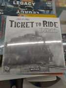 Ticket To Ride - Demo - Rare Collectible - Not Sold In Stores - Brand New Sealed