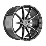 4 Hp4 18 Inch Black Tint Rims Fits Ford Focus Electric 2013 - 2020