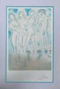 Salvador Dali The Judgement Of Paris Signed Numberedalbert Field Authenticated