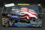2002 New 118 Scale Die Cast Muscle Machines Andrsquo41 Willys Coupe Stars And Stripes