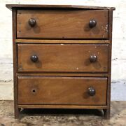 A Salesmans Sample Or Apprentice Piece Chest Of Drawers. 19th Century. Dresser.