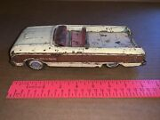 Rare Vintage Japan Falcon Squire Tin Toy Station Wagon For Parts