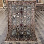 Yilong 3and039x5and039 Four Seasons Hand Knotted Silk Rug Floor Sofa Decor Carpet 329b