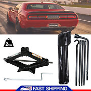 New Spare Tire Tool Replacement Kitjack Spare Lug Wrench+scissor Jack 2 Tonne