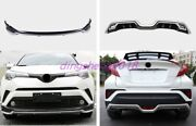 Front Rear Bumper Board Guard Protector Fit For Toyota Chr C-hr 2018-2020 2021