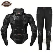 Motorcycle Motocross Racing Full Body Armor Spine Chest Protector Jacket