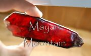 Amazing Specimen -- Red Mexican Amber Rough Raw -- Chiapas Mexico -- So Clean