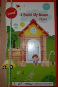 New Iwood I Build My House Log Cabin 94 Piece Building Block Set Ages 3+
