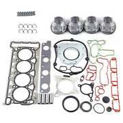 Engine Rebuild Overhaul Kit Piston 06j 198 151 B Fit Vw Passat Jetta Tiguan Audi